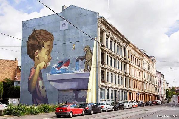 murala realizata de Etam Cru
