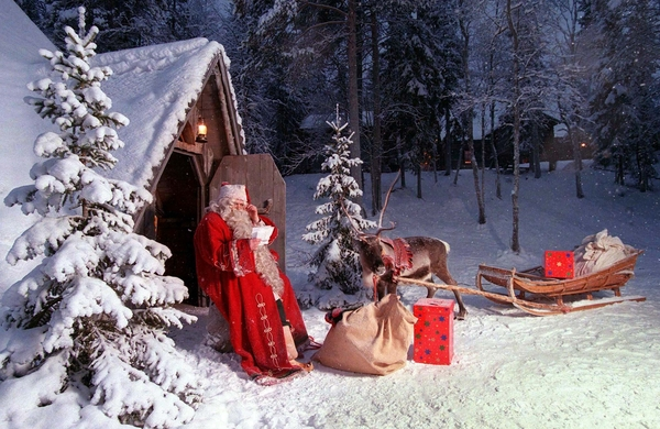 FOR USE WITH STORY BC-FINLAND-SANTA.