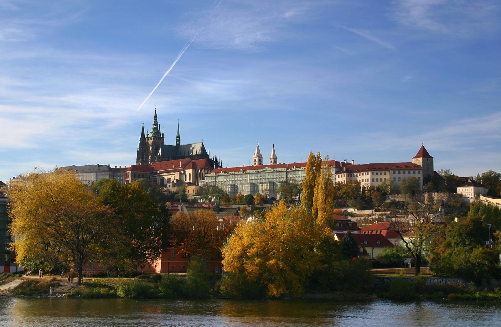 Cetatea, palatul si catedrala st. Vitus din Praga
