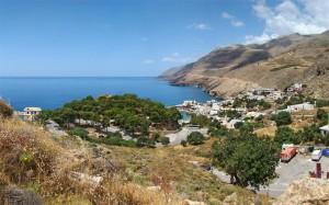Plaja de familie Creta, Grecia