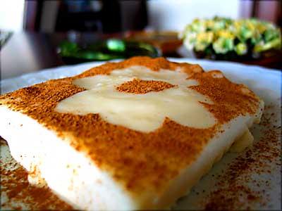 Tavuk Gogsu - desert turcesc cu piept de pui