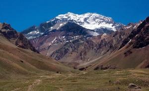Aconcagua este cel mai inalt varf din America de Sud si America de Nord