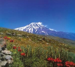 Damavand este cel mai inalt munte din Iran