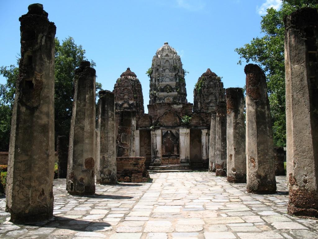 Sukhothai este una dintre capitalele antice ale Thailandei.