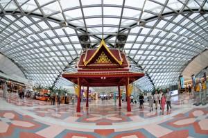 Majoritatea calatorilor din Thailanda aterizeaza pe aeroportul din Bangkok - Suvarnabhumi Airport