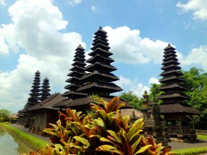 Templul Pura Taman Ayun este unul dintre cele mai iconice imagini din Bali.