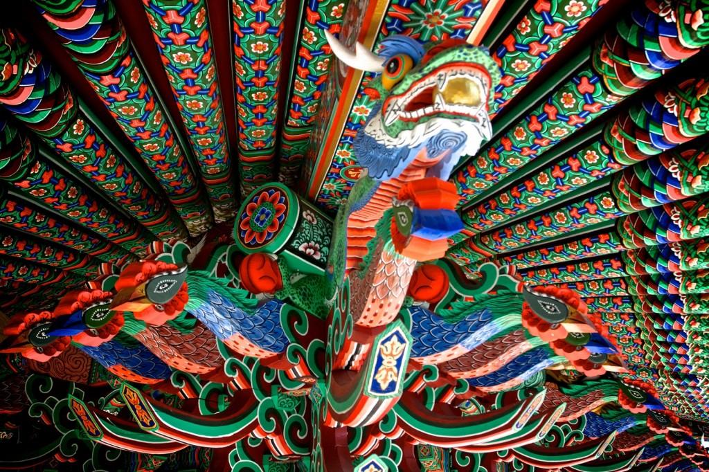Templul budist din Yeosu, Korea de Sud