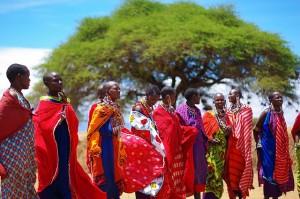 Tribul Maasai este unul dintre cele mai cunoscute triburi din Africa.