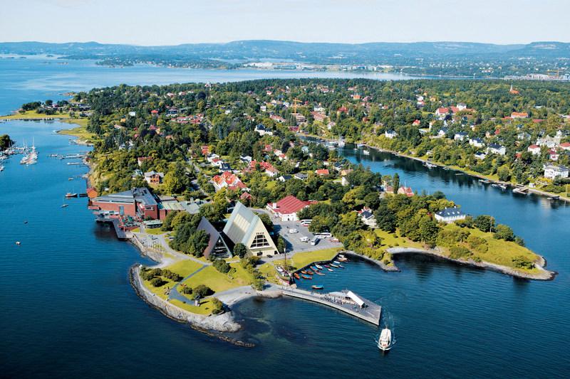 O alta atractie oferita de catre natura scandinava este Peninsula Bygdøy, aflata la cateva minute de centrul orasului Oslo.