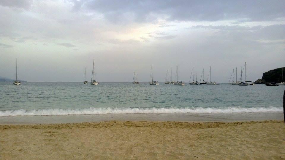 Plaja din Parga, Grecia