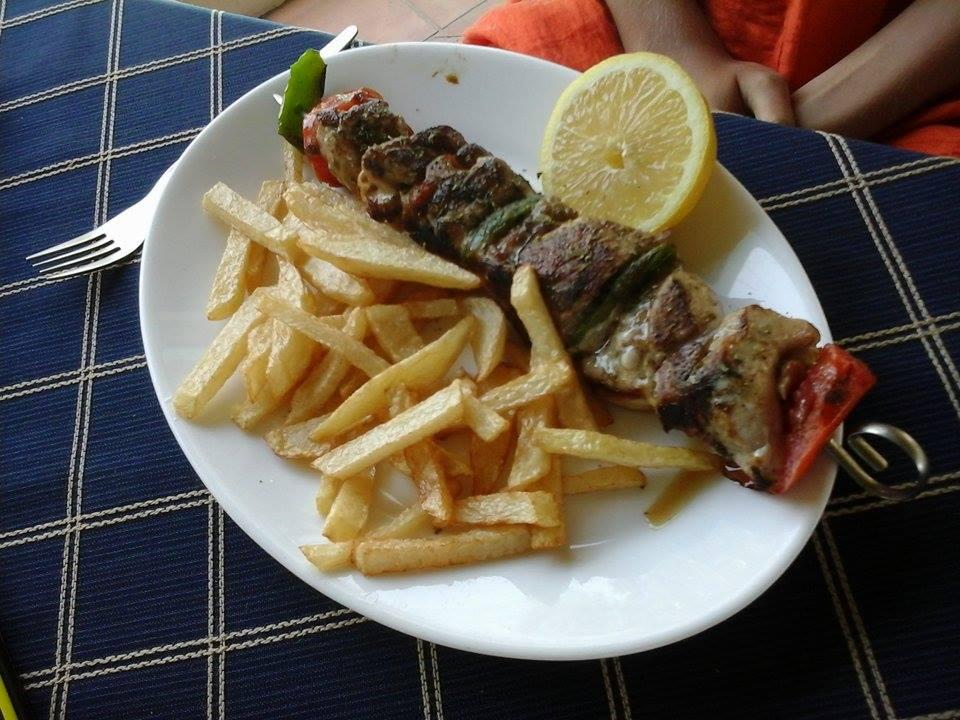 Mancarea greceasca la ea acasa in Parga