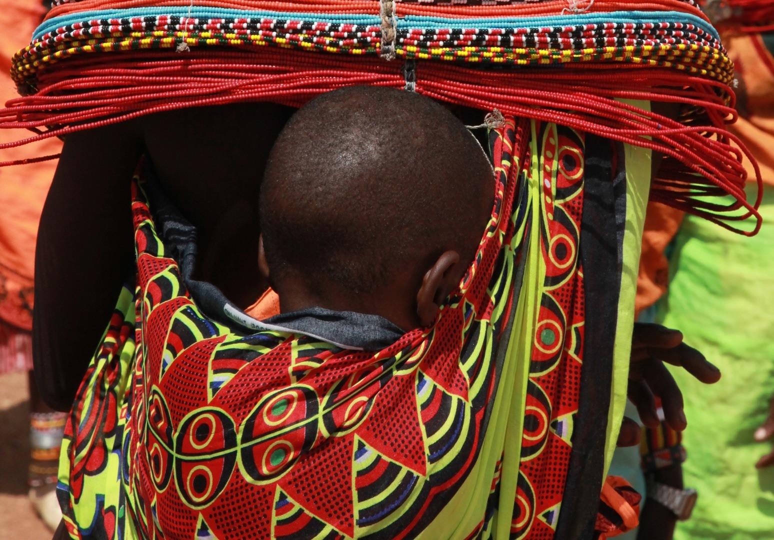 Tribul Samburu din Africa