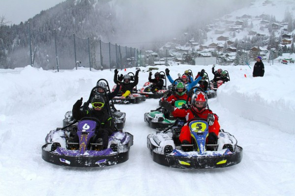 Snow-karting in Bansko