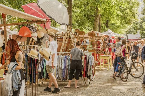 piata de vechituri din Berlin