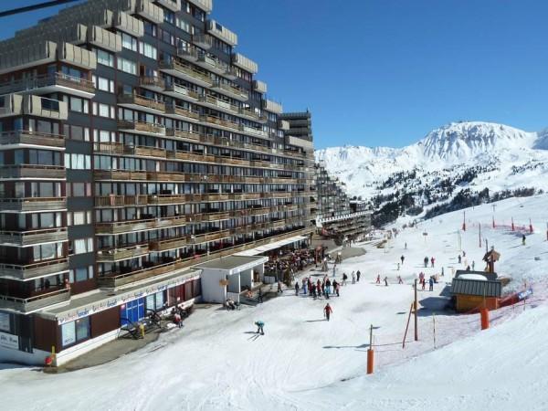 Peisaj din Paradiski ski
