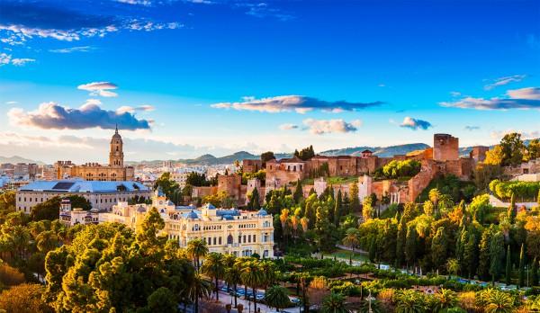 Malaga Spania