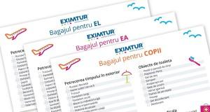 Bagaje pentru vacante exotice