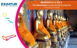 Oferta bilete de avion la Bangkok, Thailanda