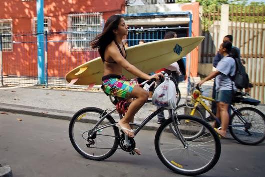 Bicicleta in Rio de Janeiro, Brazilia