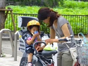 Bicicleta in Tokyo, Japonia
