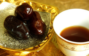 Cafea araba cu curmale