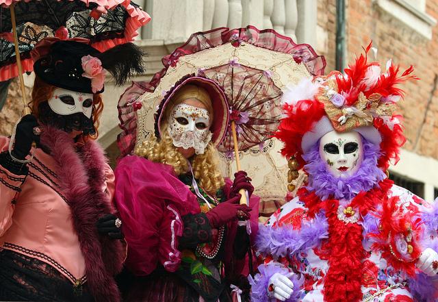 Carnavalul de la ventia, Italia