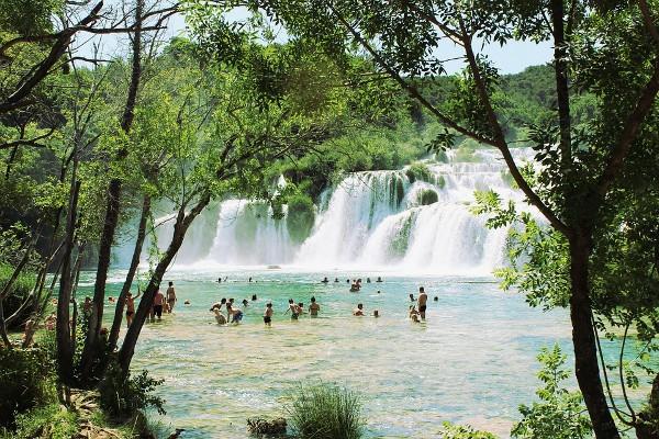 Cascada Krka Croatia