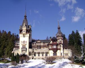 Castelul Peles iarna