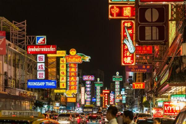 Chinatown din Bangkok