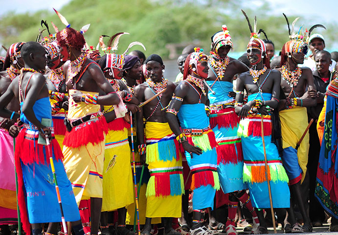 Costum popular samburu, kenya