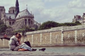 Cuplu in Paris