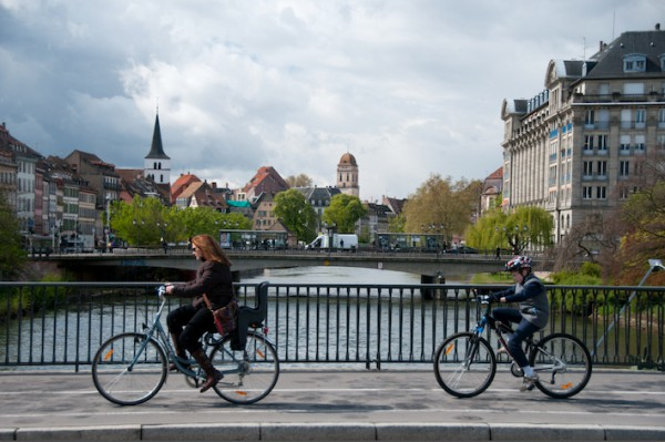 Cycling in Strasbourg