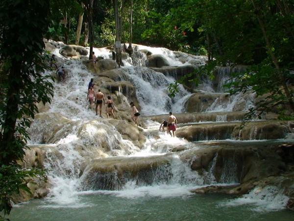Dunn river falls, langa Ocho Rios