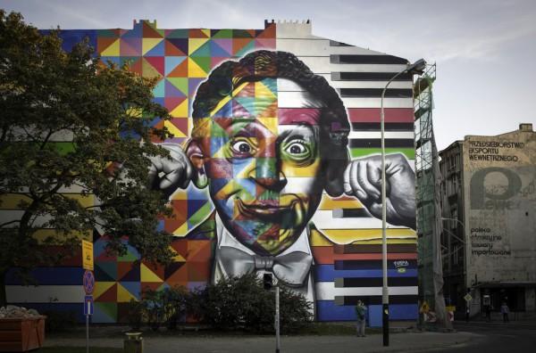 Street art Eduardo Kobra