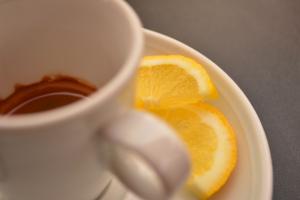 Espresso romano - cafea cu lamaie
