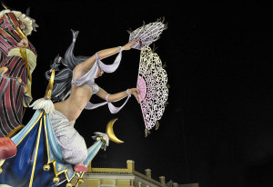 Festivalul Las Fallas din Valencia