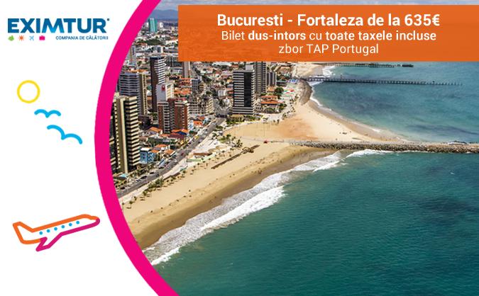 Oferte bilete de avion Brazilia, Fortaleza