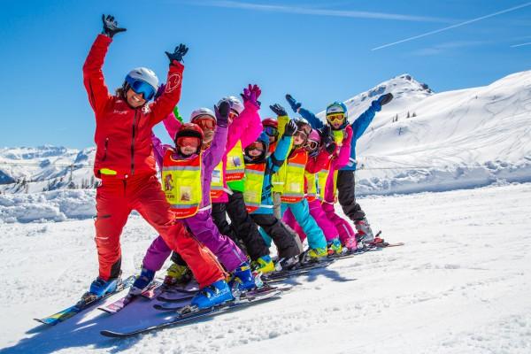 lectie de ski copii