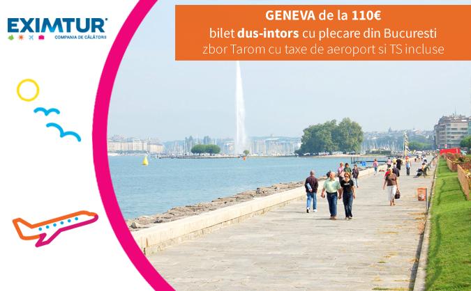 Bilete de avion Geneva