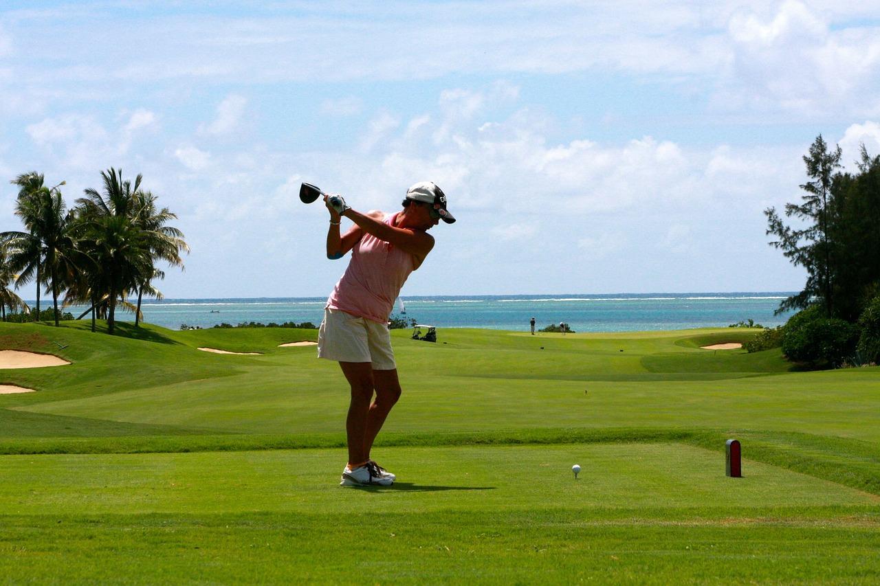 Golf in peisajele ireale din Mauritius