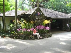 Gradina Nationala de Orhidee Singapore