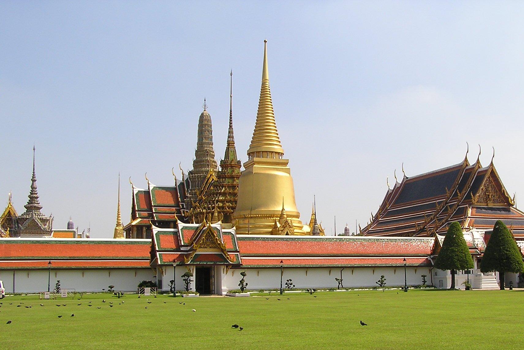 Wat Phra Kaew, cel mai important templu budist al Thailandei
