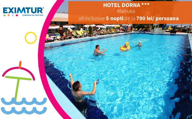 Oferte litoralul pentru toti, Hotel Dorna, Mamaia