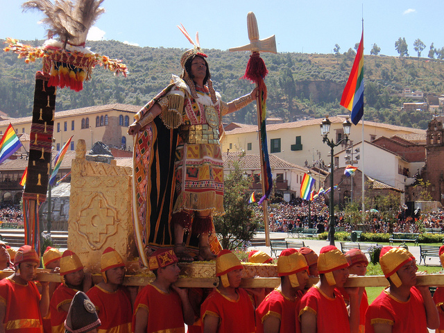 Inti Raymi, Cuzco, Peru