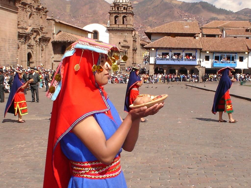 Inti Raymi, Cuzco, Peru1