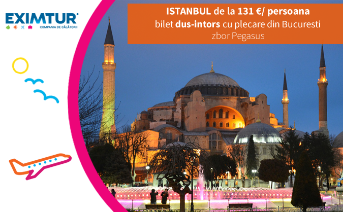 Oferte bilete de avion la Istanbul de Valetine's Day