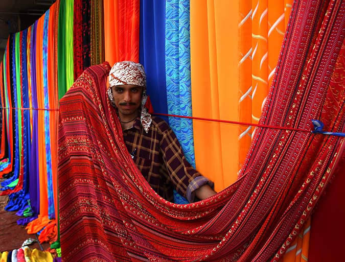 Piata din Pakistan