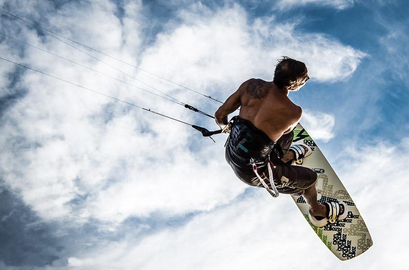 Kitesurfing in Cabarete, Republica Dominicana