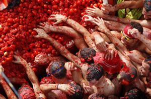 Festivalul La Tomatina, Spania