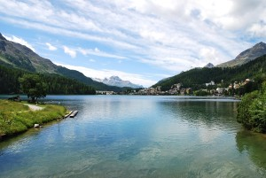 Lacul St Moritz